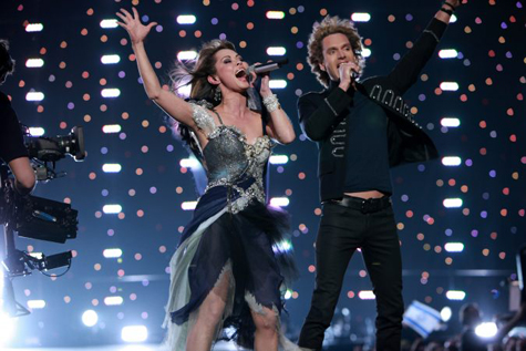Chanée & N'evergreen, Eurovision song contest 2010